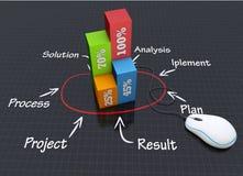Strategieplan vector illustratie