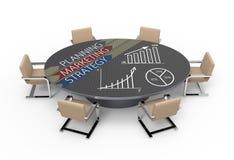 Strategieplan Royalty-vrije Stock Afbeeldingen