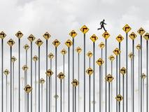 Strategii Biznesowej ścieżka ilustracja wektor