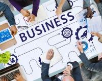 Strategii Biznesowej Wzrostowego Korporacja pojęcie Zdjęcie Stock