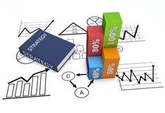 Strategia biznes Obrazy Stock