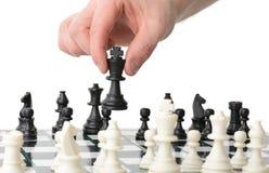 Strategische beweging royalty-vrije stock afbeelding