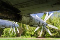 Strategisk björn för bombplan Tu-95 Fotografering för Bildbyråer