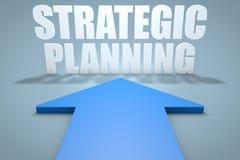 Strategisk planläggning Royaltyfria Bilder