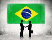 Strategisk planläggning för affär i Brasilien royaltyfria bilder