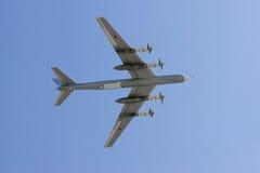 strategiskt långt område för bombplan Arkivfoton