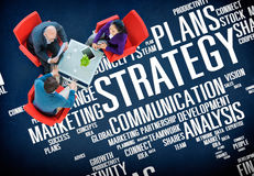 Strategy Action Vision Ideas Analysis Finance Success Concept Stock Photography