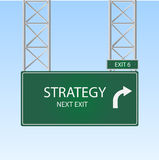 Strategy Ahead Royalty Free Stock Image