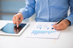 Strategy analysis Stock Photography