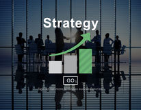 Strategy Analysis Mission Goals Strategic Concept Stock Photography