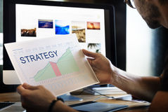 Strategy Analysis Planning Vision Business Success Concept Stock Photos