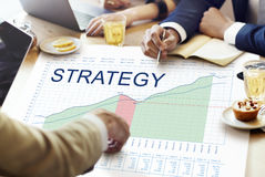 Strategy Analysis Planning Vision Business Success Concept Royalty Free Stock Images
