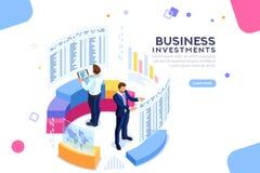 Strategy Analytics Pieniężny sztandar royalty ilustracja
