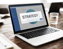 Strategy Analytics rozwiązania biznesu pojęcie Zdjęcia Royalty Free