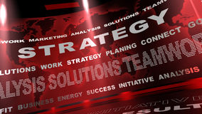 Strategy board Royalty Free Stock Photography