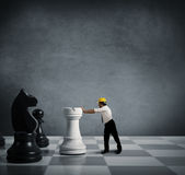 Strategy in business Stock Image
