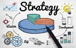 Strategy Business Chart Vision Development Concept Stock Image