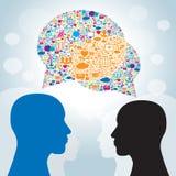 Strategy business communication Stock Photography