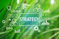 Strategy in Business Concept stock photo