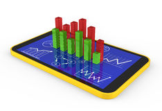 Strategy business. Concept with different charts Stock Photography