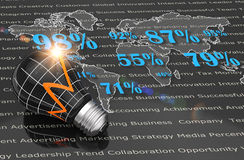 Strategy business concept Stock Photography