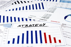 Strategy in business and finance Stock Photography