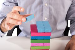 Strategy business toy Stock Image