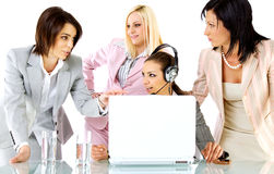 Strategy businesswomen Royalty Free Stock Image