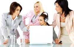 Strategy businesswomen Royalty Free Stock Image