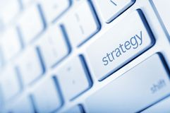 Strategy Button Stock Images
