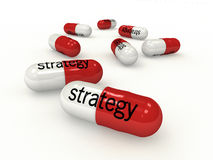 Strategy Capsules f1s Stock Photography