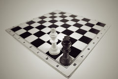 Strategy check mate Stock Images