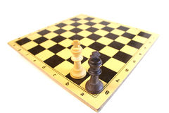 Strategy check mate Royalty Free Stock Image
