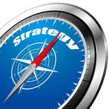 Strategy compass Royalty Free Stock Photos