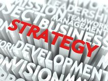 Strategy Concept. Royalty Free Stock Photos