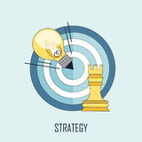 Strategy concept Stock Photo