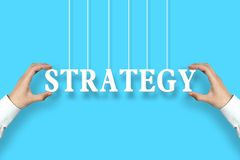 Strategy concept Stock Images