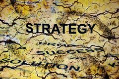 Strategy concept Royalty Free Stock Images