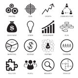 Strategy concept icons Stock Photo