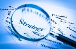 Strategy concept Stock Photos
