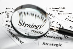 Strategy concept Royalty Free Stock Photography