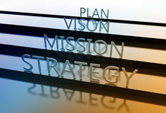 Planning strategy Stock Photos
