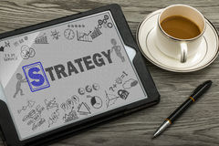 Strategy concept Royalty Free Stock Photo