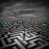 Strategy Crisis royalty free illustration