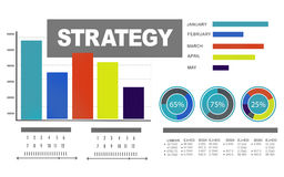 Strategy Data Information Plan Marketing Solution Vision Concept Stock Photo