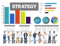 Strategy Data Information Plan Marketing Solution Vision Concept Royalty Free Stock Photography