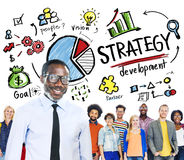 Strategy Development Goal Marketing Planning Business Concept Stock Photo