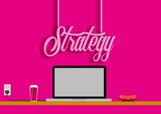 Strategy Digital Marketing ,Digital Strategy Development ,flat , Vector , Business. High Resoulution, High Quality ,300 Dpi Stock Photos