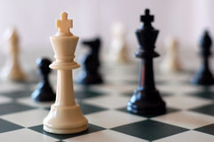 Strategy Game Royalty Free Stock Photos