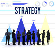 Strategy Guidelines Mission Development Planning Concept Royalty Free Stock Image